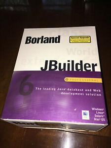 WEBSITE BUILDER- BORLAND JBUILDER 6 PROFESSIONAL- PREOWNED