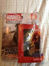 Marvel Fact Files Black Widow Special Action Figure - Eaglemoss - NM CONDITION