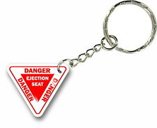 Keychain key ring keyring car pilot plane flight ejection seat aviation