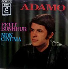 """7"""" 1970 VG+! ADAMO : Petit Bonheur /ein kleines Glück"""