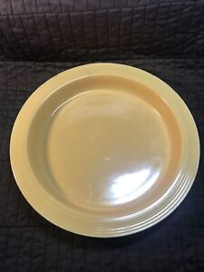 Vintage Homer Laughlin Fiesta - Yellow Round Relish Tray - Base Only