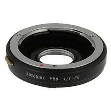 Fotodiox pro lens Mount adaptador-Contax/Yashica (CY) lens to Pentax K (PK) Body