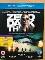 Zero Dark Thirty 2012 Hunt per Bin Laden Thriller UK Blu-Ray con Copertina