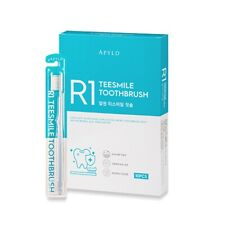 R1 Teesmile Toothbrush with Silver-nano Contained Bristles 10ea