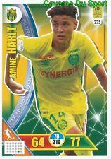 225 AMINE HARIT FC.NANTES SCHALKE 04 CARTE CARD ADRENALYN LIGUE 1 2018 PANINI