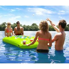 Airhead Inflatable Beer Pong Table Floating Water Game Party Pool Lounge Lake Be