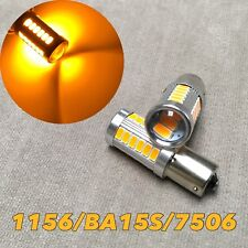 Rear Signal Light 1156 BA15S 7506 3497 P21W 33 SMD samsung LED Amber for Hyundai