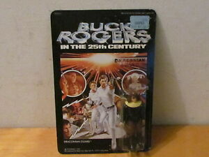 VINTAGE 1979 MEGO BUCK ROGERS ACTION FIGURE (DRACONIAN GUARD) UNPUNCHED CARD