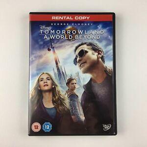 Tomorrowland: A World Beyond (DVD, 2015) r
