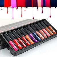 Popfeel Waterproof Matte Cream Liquid Lipstick Moisturize Lip Gloss Long Lasting