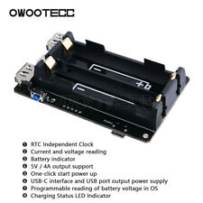 18650 New UPS With RTC function Power Supply Device for Raspberry Pi 4 B/3B+/3B