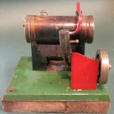 Video Latimer L4 horizontal steam engine burnerbox works1950 mamod stuart burnac