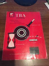 Vintage Car Automobile Info TBA All Purpose Percentage Book 1977 Tires Batteries