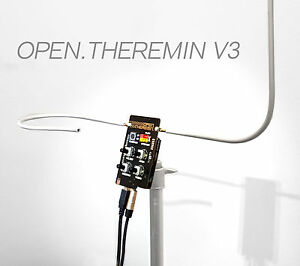 Open Theremin Kit - Arduino Shield + Antennas - real theremin Pitch & Volume