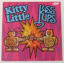 Kitty Little / Kiss Ups  Split LP (Blue Vinyl)