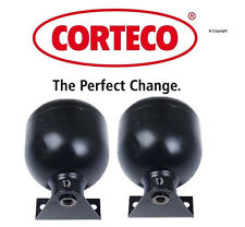 Set of 2 Corteco Brand Rear  Suspension Self-Leveling Unit Accumulator Mercedes