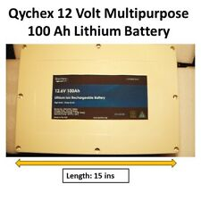 12V 100Ah Lithium Rechargeable Battery For RV / Off Grid / Camping