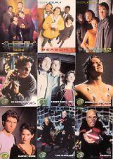 SLIDERS TELEVISION SHOW 1997 INKWORKS COMPLETE BASE CARD SET OF 72 TV