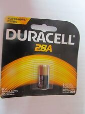 3 pcs. Duracell 28A Battery.  6V, PX28A, A544, 4LR44  NEW