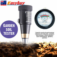 Soil PH Level Moisture Light Tester Meter Plant Crop Flower Hydroponics Analyzer