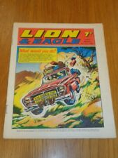 LION & EAGLE 5TH JULY 1969 BRITISH WEEKLY COMIC FLEETWAY^
