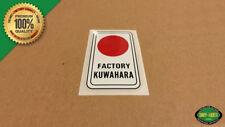 1980 - 1982 Kuwahara 'HEAD TUBE' Vintage BMX Decal Sticker - KZ, Laserlite, KYZ