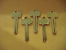 "LOT OF FIVE NICKEL SILVER LOOKS LIKE BEST KEY BLANKS FOR ""C""  KEYWAY"