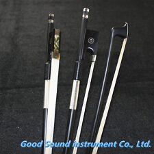 10 pcs New black Carbon fiber violin bows 4/4 professional very nice