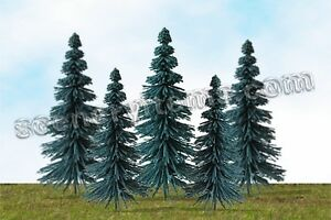 MP SCENERY 24 Blue Spruce HO Scale Architectural Model Trees Railroad Layouts
