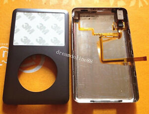 Front&Back cover+headphone jack for iPod Classic 6th Gen 120gb