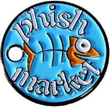 Phish Market Logo pathtag geocoin - New - trackable
