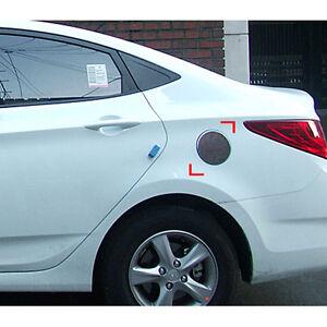 Chrome Fuel Gas Cap Cover For 2011 2012 2017 Hyundai Accent 4door Sedan