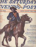 1902 Saturday Evening Post May 3 Owen Wister; Why we have railroad wrecks;Cowboy