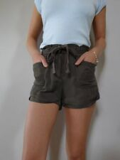 Rayon Machine Washable Mid-Rise Shorts for Women