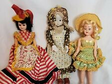 Vintage Doll Lot Storybook Lingerie Lou Porcelain Preowned As Is