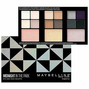 Maybelline Eye & Face Palettes Midnight In The Park
