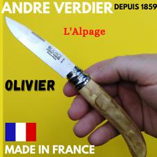 COUTEAU DE TOUS LES JOURS ANDRE VERDIER MADE IN FRANCE L'ALPAGE OLIVIER