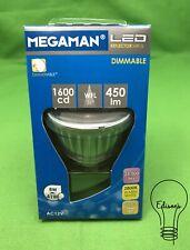 8 Watt Dimmable LED 12 Volt MR16 Warm White Megaman 144846