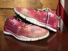 Women's Nike Free 5.0 Tr Fit 4 Running Shoes Sz 9 (629832-100) Multi Color Used