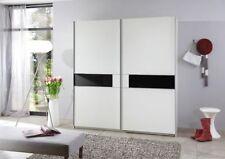 Überspannungsschutz 2 moderne Kleiderschränke aus Holzfurnier der Türen