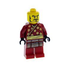 1 x Lego Minifiguren Serie 3 Samurai Krieger ohne Rüstung (nur Figur) für col03