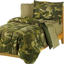 BRAND NEW! My Room Geo Camo Bed In A Bag KIDS BOYS TEEN BEDDING SET (TWIN SIZE)