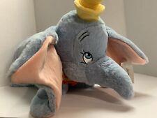 "Disney Parks Dumbo Pillow Pet Plush NEW 20"" Soft Sleepy Elephant Disney World"