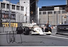 Christian Danner SIGNED 12x8  F1 Arrows-BMW A8  US Grand Prix Detroit 1986