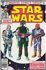 Star Wars #42 Facsimile Reprint Cover Only w/Original Ads 1st App Boba Fett Key