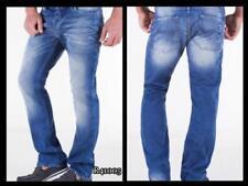 Jeans da uomo beigi l