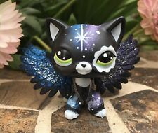 Short Hair Cat, Galaxy Kitty, Hand Painted, Mini Pet Shop with free accessories