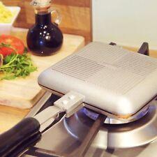 Tostadora Sandwich Grill desayuno Estufa de Camping Toastie Maker Tostadora De Aluminio