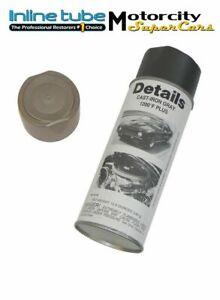 1964-77 GM CAST IRON EXHAUST MANIFOLD HEADER CAST GRAY HIGH TEMP SPRAY PAINT OEM