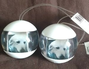 2 x UMBRA FOTOBALL FUNKY WHITE HANGING PHOTO FRAME 4 MINIS - NEW WITH TAGS